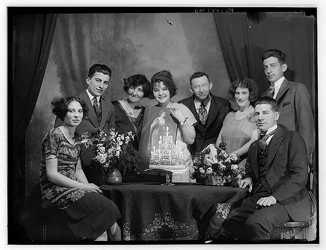 birthday+party+c.+1925