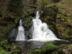 Waterfall at Tribeg.