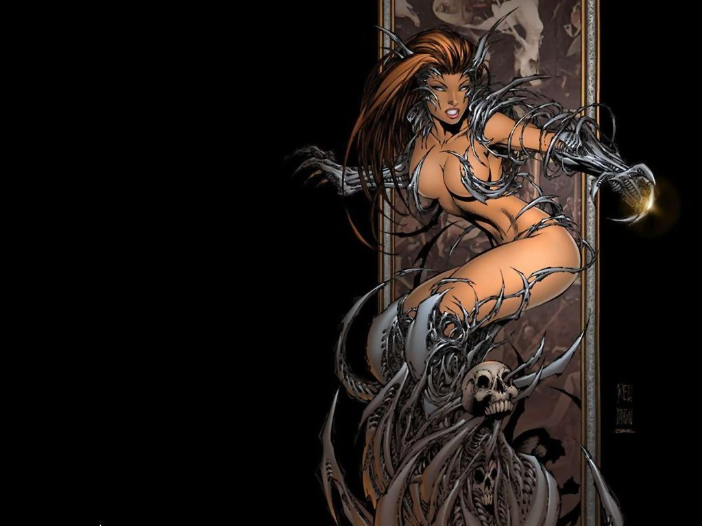 Share All witchblade girls naked variant Fantasy