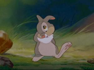 You hear that, Thumper?